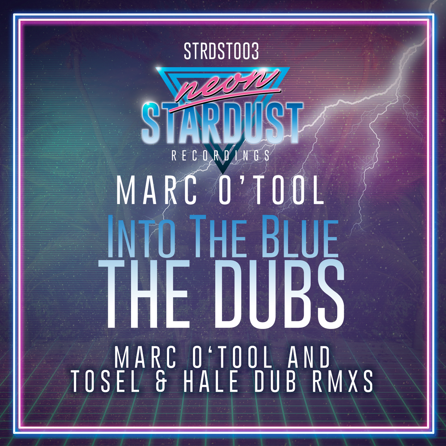 STRDST003 - Marc O Tool - Into The Blue - The Dubs (incl. Tosel & Hale Rmx)